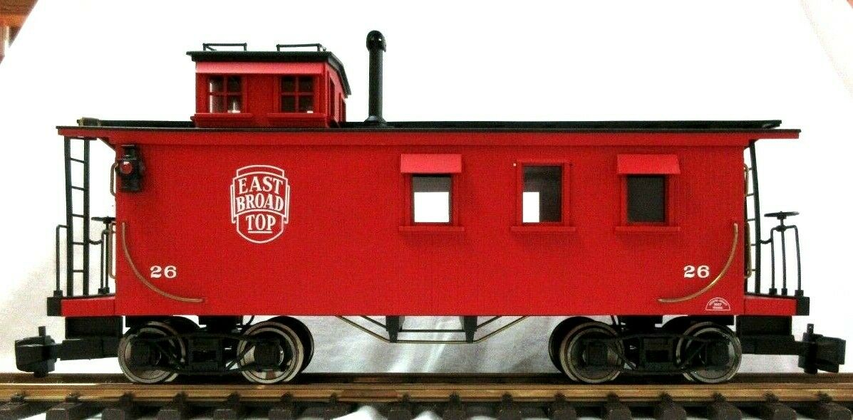 ARISTO CRAFT 82104 EAST Bstrada TOP CABOOSE W  LIGHTING & LIGHTED MARKERS