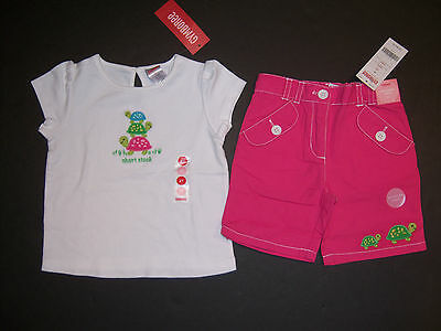 NWT Gymboree Outlet Girl Mix/'n/'Match Sun Hat Girl Tee//Leggings Outfit  7 8