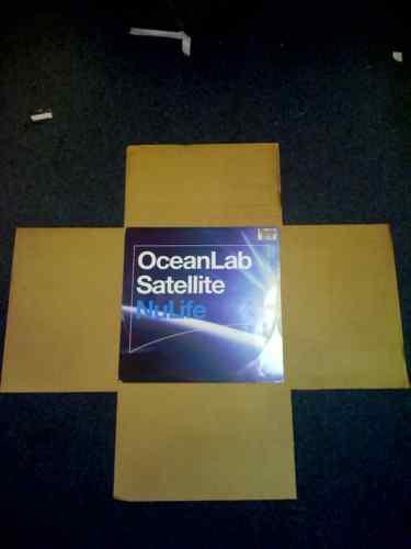 "50 12/"" LP cruciforme record pochettes box-Multi profondeur"