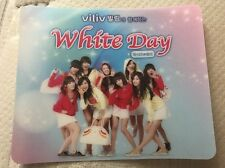 Girls' Generation SNSD Viliv White Day Mouse Pad RARE
