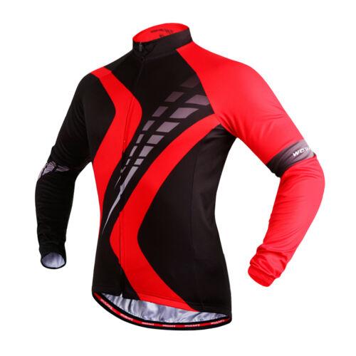 Men/'s Cycling Jerseys Bike Clothing Long Sleeve Shirts Bicycle Tops Sports S-XXL