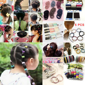 Fashion-Girl-Elastic-Rubber-Hair-Ties-Band-Ponytail-Holder-Resilience-Seamless