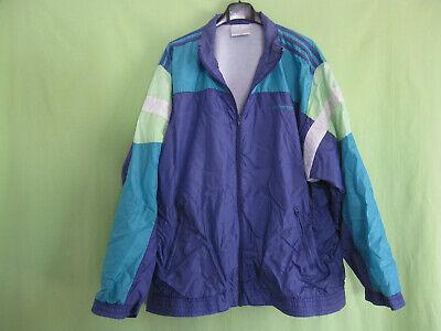 Veste Adidas Nylon Polyamide 90'S Violet Vintage Oldschool Jacket 192 XXL | eBay