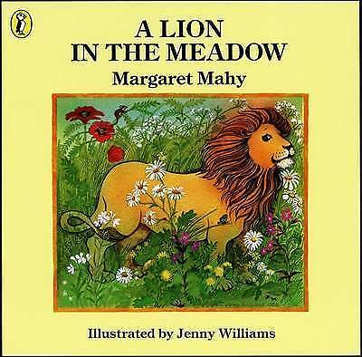 (Good)-A Lion in the Meadow (Picture Puffin) (Paperback)-Mahy, Margaret-01405063