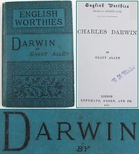 CHARLES DARWIN*1888*BIOGRAPHY/ANCESTRY/EVOLUTIONARY MOVEMENT HISTORY/REVOLUTION
