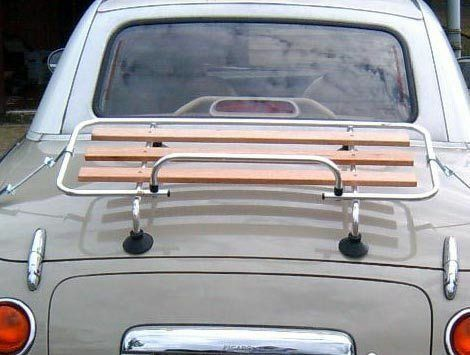 MX5 MK1//2  MGB /& TF Car Luggage boot Rack New Alu//Wood