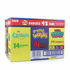 Walkers Confezione 42 Snack varietà Crisp BOX-WOTSITS CROME MONSTER MUNCH