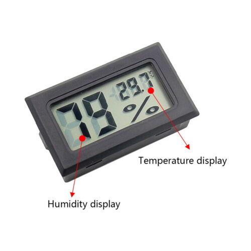 Mini LCD Temperature Humidity Meter Gauge Digital Indoor Thermometer Hygrometer