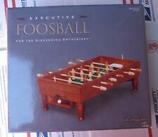 Executive Foosball Mini Table Mint CONDITION Wood