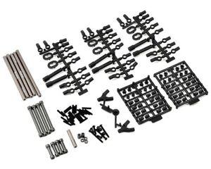 Axial-Racing-SCX10-Grey-Alloy-TR-Links-Set-12-034-305mm-Wheelbase-AXIAX31142