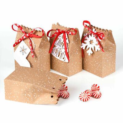 """4 x Diamond Shape Card Gift Boxes Bag Xmas gift wrapping Christmas /""""Brand New/"""""""