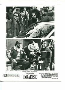 Details about George Gallo Dana Carvey Nicolas Cage Jon Lovitz Trapped In  Paradise Movie Photo