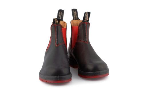 Blundstone Style 1316 Australian Chelsea Boots Black Red
