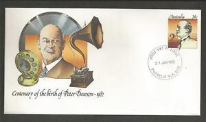 AUSTRALIA-1982-PETER-DAWSON-BIRTH-CENTENARY-PRE-STAMPED-ENVELOPE-F-D-C