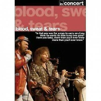 Blood, Sweat & Tears In Concert Live DVD NEW SEALED