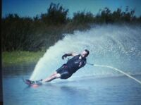 Vtg Water Ski Song I Love To Ski By Bob Dodson Competition Tournament Awesome