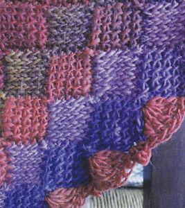 Crochet Pattern Entrelac Baby Blanket Afghan