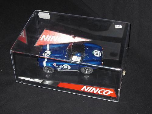 P343 NINCO SLOT CAR AC COBRA LE LE LE MANS 63 1:32 50303 TBE 64c666