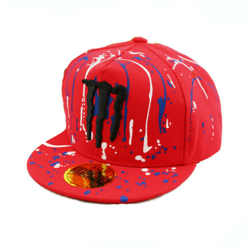 Kids Embroidery Baseball Cap Children Boy Girl Racing Motor Hiphop Snapback Hat
