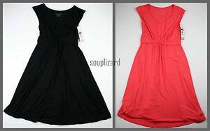 New-Women-039-s-Maternity-Black-Dress-Liz-Lange-NWT-Size-SZ-S-M-L-Small-Business