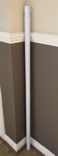 1 X BESTWAY SWIMMING POOL REPLACEMENT PART WHITE METAL VERTICAL LEG POLE X 1