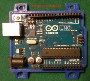 Arduino-UNO-R1-R2-R3-Mount-Holder-Accessory-BLUE