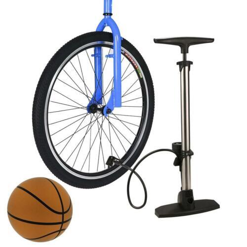 Fahrrad Profi Hochdruck Luftpumpe Standpumpe Barometer 11 Bar für alle Ventile