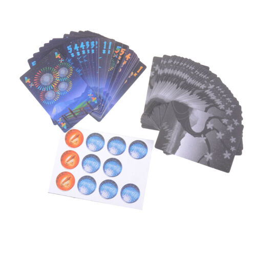 HANABI Board Game 2-5 Players Cards Games Easy To Play Funny Game For Party P0CA