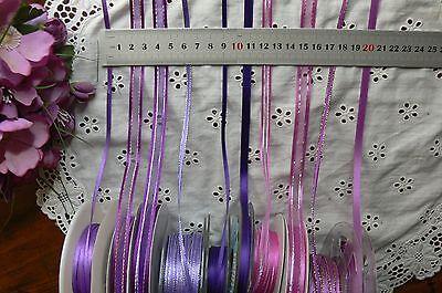 Satin flower garland 25mm Wide 2/&3 Metre Lengths 6 Colour Choice GreenTara ARD2