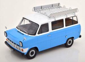 FORD Transit Bus - 1965 - blue / white - KK 1:18