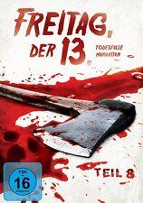 FREITAG DER 13.TEIL 8 - TODESFALLE MANHATTAN - KANE HODDER,SCOTT REEVES-DVD NEU
