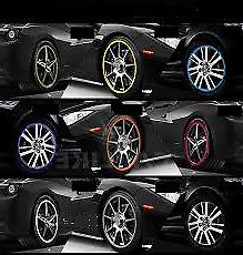 BLUE Alloy Wheel Protector Rim Trim Strips RIMBLADES FLEX fits BMW