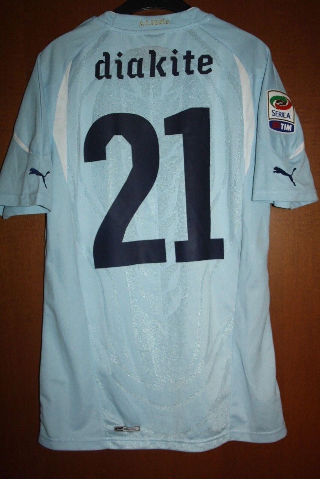 Maglia Shirt Trikot Maillot Jersey Camiseta SS Lazio Diakite Patch Serie A Toppa