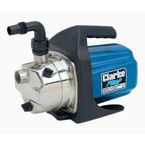 Clarke SPE1200SS eléctrica Bomba de agua 1  61 L MIN 1ph motor nuevo, pero Caja Dañada