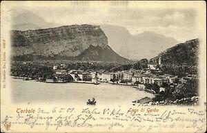 Torbole-Gardasee-Lago-di-Garda-Italien-Italia-AK-1901-gelaufen-Kornthal-Korntal
