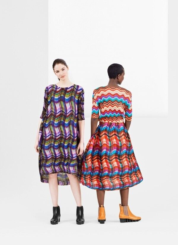ISSEY MIYAKE PLEATS PLEASE 2018AW SKIRT TWISTED NWT