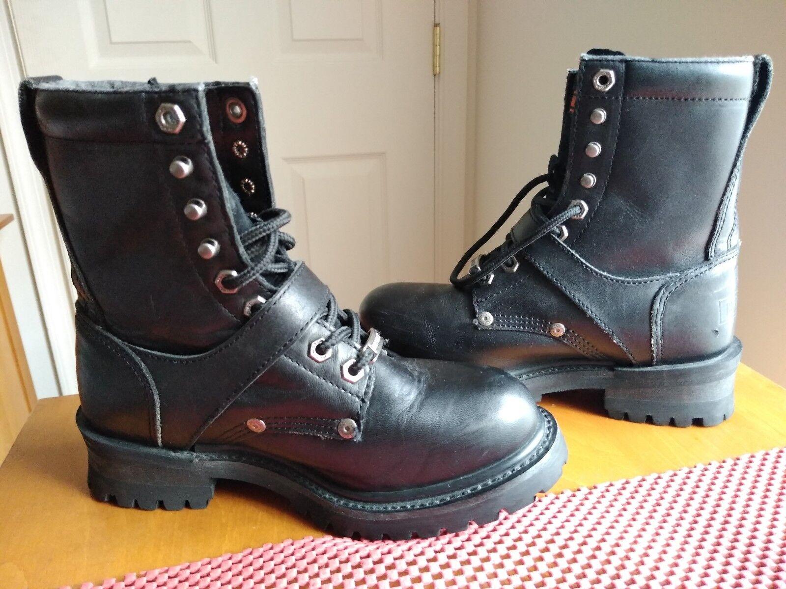 Donna harley davidson leather stivali Dimensione 6