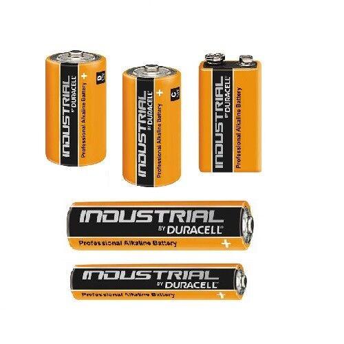 Duracell Industrial Procell AA AAA 9V Baby C Mono D Mignon Micro batterien Karto