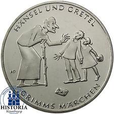 Deutschland 10 Euro 2014 bfr. Grimms Märchen: Hänsel und Gretel in Münzkapsel