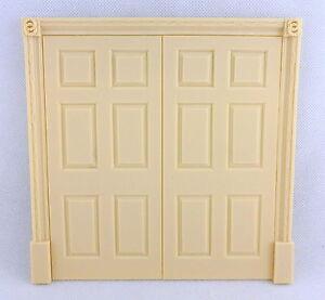 Melody Jane Dolls House Regency Double Door False 6 Panel Interior Resin 1:12