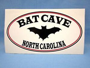 SOUVENIR TRAVEL STICKER DECAL ~L@@K~ ** BAT CAVE NORTH CAROLINA NC **