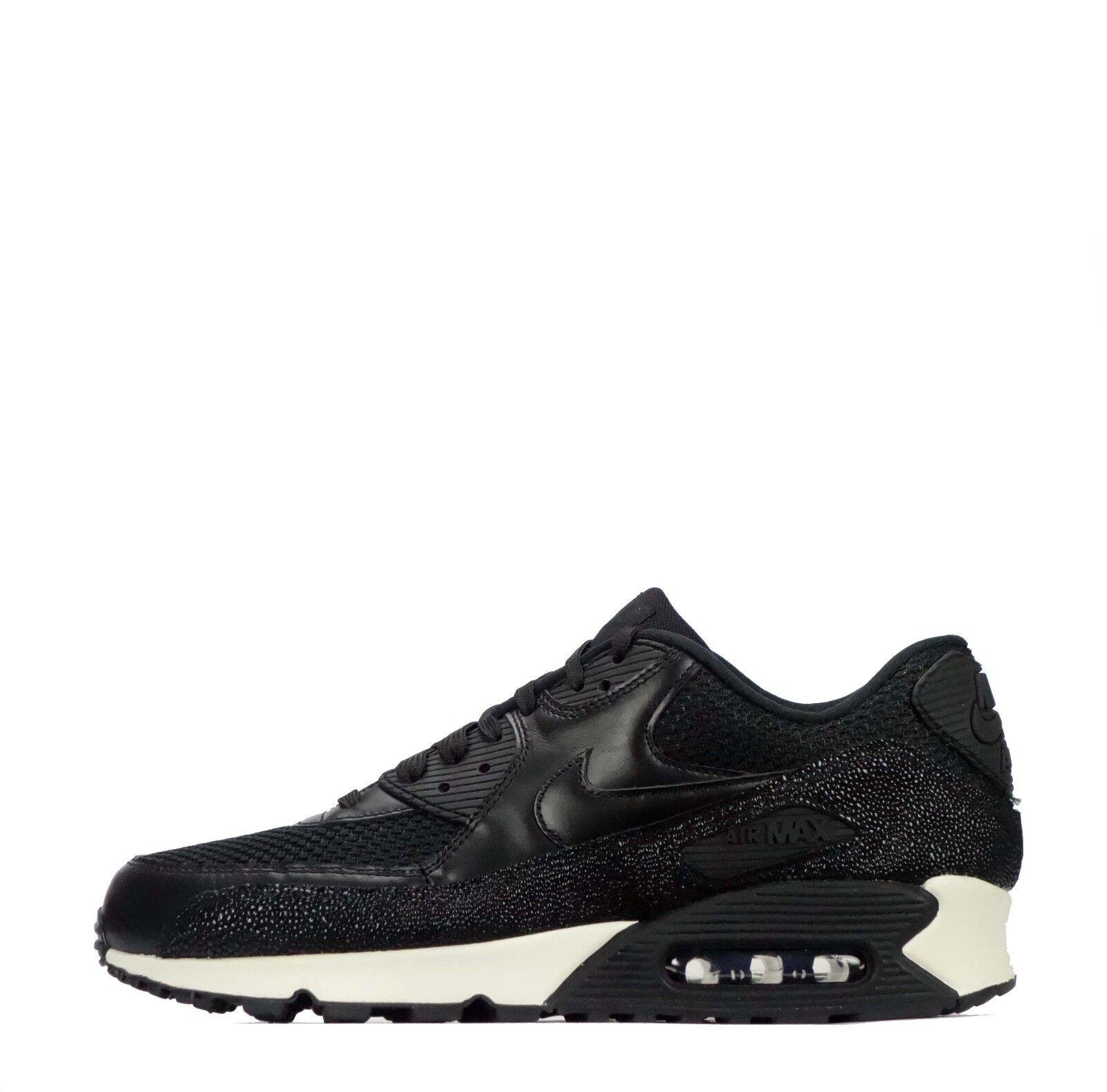 Nike pa Air Max 90 cuero pa Nike HOMBRE ZAPATOS NEGROS /Negro e90615