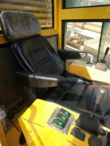 Left Side Comfortable PU Leather Car Trucks Seat Armrest+Metal Mounting Bracket