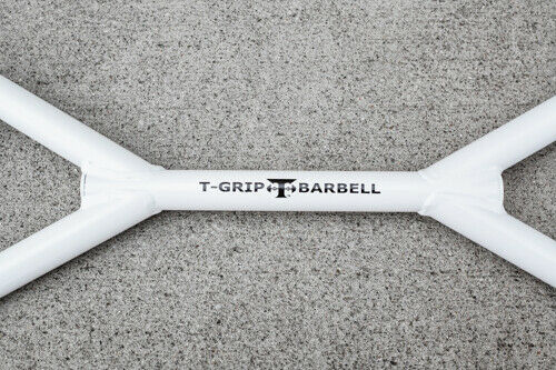 T-Grip Barbell Club Strength Strength Strength Lite Bar with Parallel and Angled Grip Position 376125