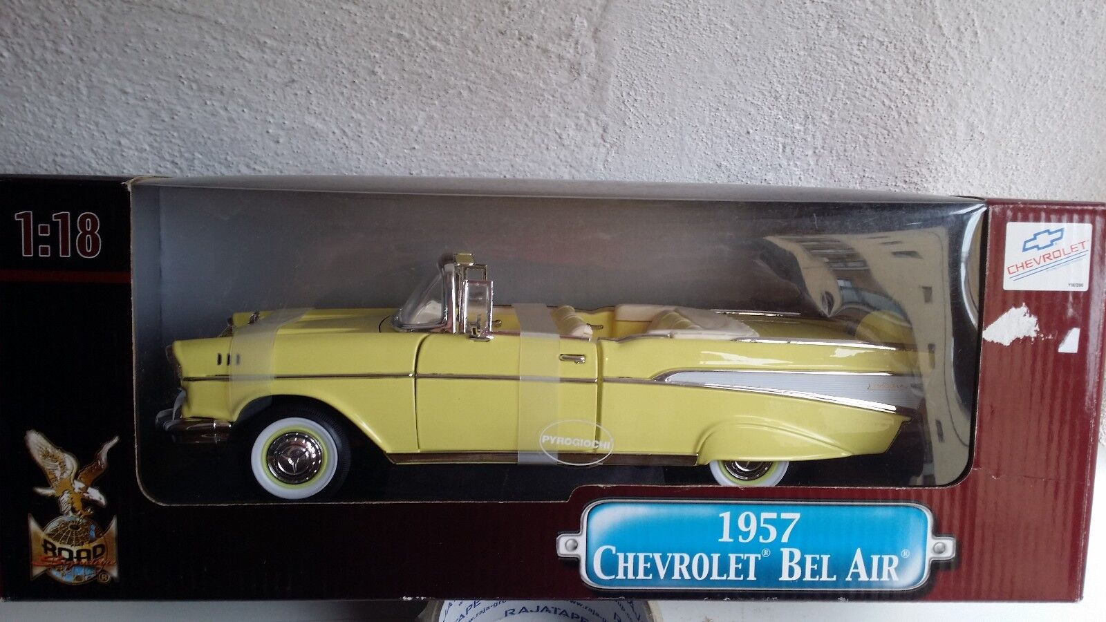 Chevrolet Bel Air 1957 Yat Ming 1 18