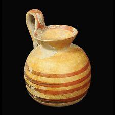 APHRODITE- ANCIENT GREEK CORINTHIAN DECORATED POTTERY AYRBALLOS