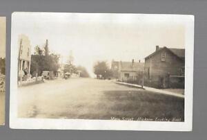 pk44124-Real-Photo-Postcard-Main-Street-Looking-East-Hickson-Ontario