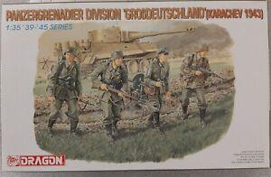 Dragon 1//35 6124 WWII German Panzergrenadier Division Grobdeutschland 1943
