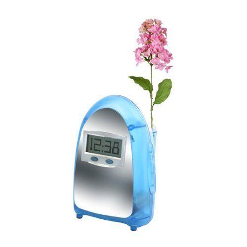 Princess International Water Powered Digital LCD Display Blue Clock PI3206