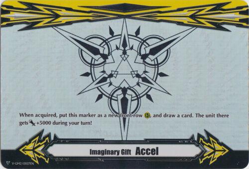 Vanguard Imaginary Gift Accel II Cardfight Rainbow Foil V-GM2//0027EN PR Nea